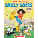 Robert Munsch Book and CD - Smelly Socks