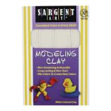 Non-Hardening Modeling Clay - White