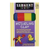 Non-Hardening Modeling Clay - 4  Primary Colours