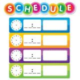 Color Your Classroom! Class Schedule