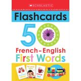 50 French-English First Words Flashcards
