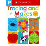 Tracing and Mazes Workbook