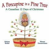 Porcupine in a pine tree - Boardbook