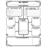 Graphic Organizer Poster - All About Me Web