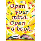 Open Your Mind Open A Book Chart