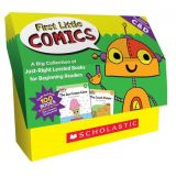 First Little Comics Classroom - Classroom Set  Levels C&D (5 copies of 20 titles) Gr.PK-2