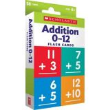 Flash Cards: Addition 0 - 12