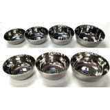 Stainless Steel Bowls - Set of 7