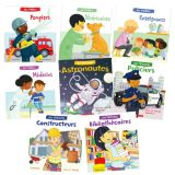 Au Travail French Career set of 8