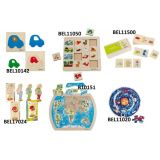 Beleduc Learning Puzzles - Set 2