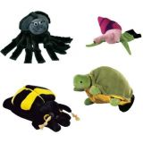 Beleduc Tiny Creatures Hand Puppets set of 4
