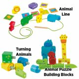 Beleduc Animals Manipulative - Set of 3