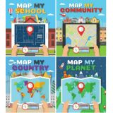 Mapping My World Series set of 4