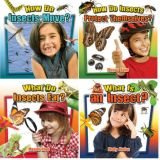 Insects Close Up Series (Set of 4 Books)