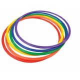 Flat Hoop 24 Assorted Colours-Single