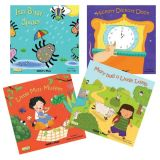 Books With Holes Series (4 Books) Set A
