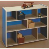 Melamine High Storage Unit (Blue)