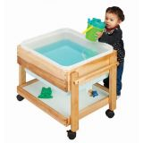 Small Sand/Water Table- Preschool 23 (White)