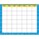 Reptile Blue - Wipe-Off® Calendar-Monthly