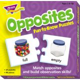 Fun-to-Know™ Puzzles - Opposites