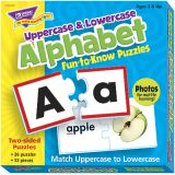 Fun-to-Know™ Puzzles - Upper and Lower Case Alphabet