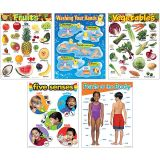 Healthy Living - Learning Charts Combo Pack