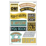 I love Metal Motivating Messages Stickers