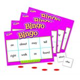 Bingo Games - Sight Words Level 2