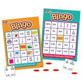 Bingo Games  - Fractions, Decimals and Percents- Grades 3 and up