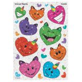 Uni-Cats Hearts Stickers