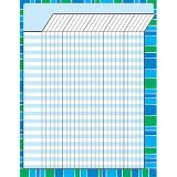 Stripe-tacular Cool Blue - Incentive Chart-Large