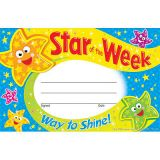 Recognition Awards - Star of the Week