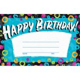 Color Harmony Birthday Recognition Awards