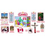 Canadian Symbols Bulletin Board Set