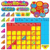 Classic Calendar Duo Bulletin Board Set