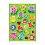 Friendly Flowers Stickers-Mixed Shapes