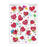 Hearty Fun Mixed Shaped Stickers