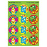 Cando Crayons Round Stickers