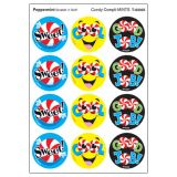 Candy Compli-MINTS/Peppermint Round Stickers