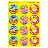 Country Critters Round Stickers