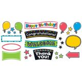 Bold Strokes Wipeoff Celebration Signs Bulletin Board