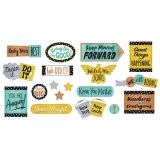 I Love Metal Phrases Bulletin Board Set