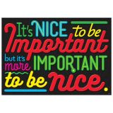 It's nice to be Important…Poster