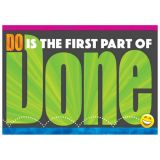 Do Is The First Part Of Done Poster