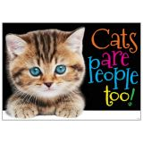 Cats Are People Too! Poster