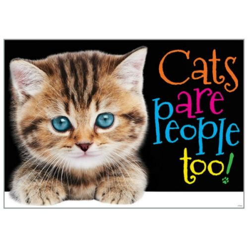 Argus® Charts - Cats Are People Too!, TA67084