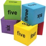Colourful Number Word Dice