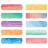 Watercolour Labels