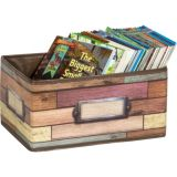 Reclaimed Wood Small Storage Bin