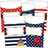 Library Pocket Nautical- Multi Pack